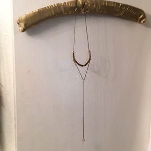 Necklace in women